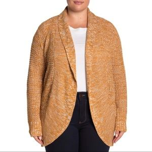 Planet Gold Open Front Cocoon Cardigan Nordstrom